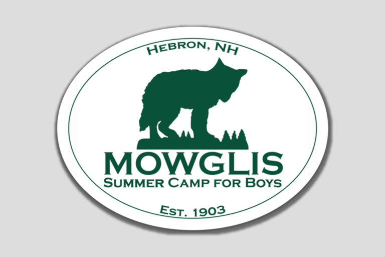 Mowglis Oval Sticker and Magnet