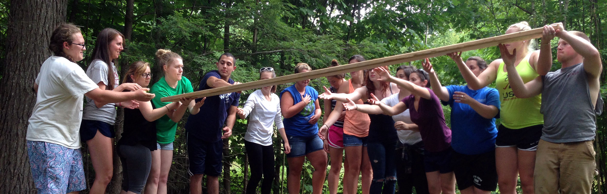Group Retreats for Youth Groups, Church Groups and Teams in New Hampshire at Camp Mowglis
